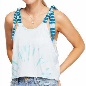 Free People Koa tie dyed tank top
